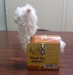 Photo of Wind-up Alpaca Toy