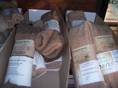 Photo of Gentle Touch alpaca sock