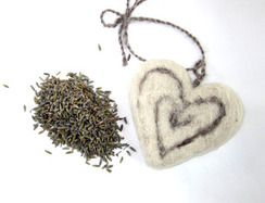 Photo of Lavender Sachet (Heart)