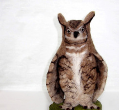 Photo of Owl (Great Horned) Felting Kit