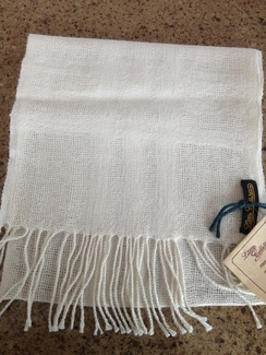 Photo of 100% alpaca scarves