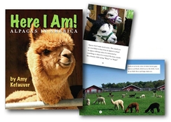 Photo of Here I Am! Alpaca Book