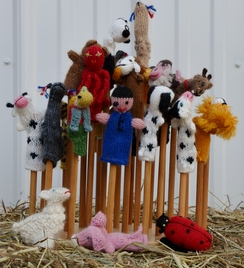 Photo of Alpaca & Mixed Finger Puppets