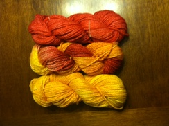 Photo of Hand Dyed Yarn