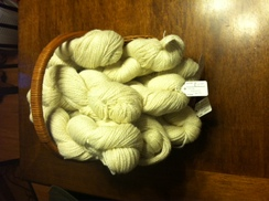 Photo of White Yarn