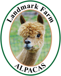 Landmark Farm Alpacas - Logo