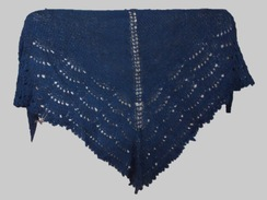 Photo of Blue Caress Shawl - sold