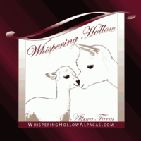 Whispering Hollow Alpaca Farm - Logo