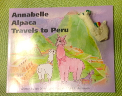 Photo of Annabelle Alpaca Travels to Peru