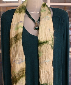 Photo of Nuno Felted OOAK Scarf