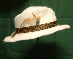 Photo of Natural White Cowboy Style Hat