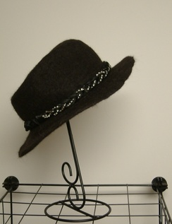 Photo of Hand Knitted & Felted Cowboy Style Hat