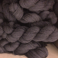 Photo of Bay Black Sport Weight Yarn