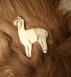 Photo of Full Body Alpaca Broaches