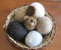Photo of Dryer Balls Gift Basket