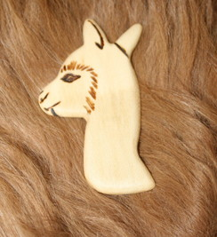 Photo of Alpaca Broaches