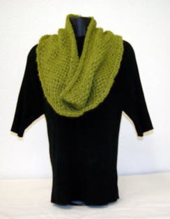 Photo of Hand Knit Alpaca Cowls  Includes Shpg