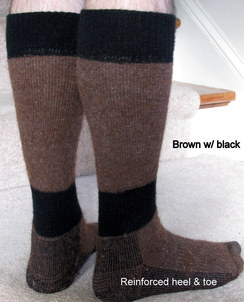 Photo of High Calf Alpaca Boot Socks - size XL