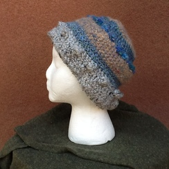 Photo of Lollypop Line Hat Blue/Fawn