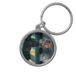 Photo of Alpaca Kissing Key Chain