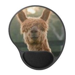 Photo of Alpaca Smiling Gel Mousepad