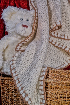 Photo of Keepsake Alpaca Baby Blanket