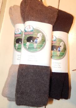 Photo of Ladie's Loosetop Alpaca Socks