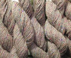 Photo of Light gray with silk tweed yarn (1315)