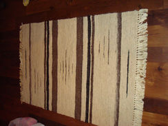 Photo of Hand loomed Suri Alpaca Rug