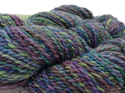 Photo of Plied and Dyed Yarn