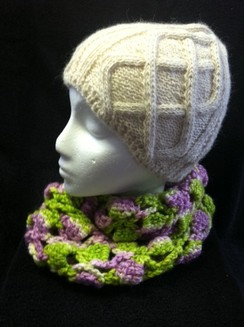 Photo of Hand Dyed , Crochet,Cowl