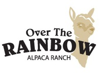 Over the Rainbow Alpaca Ranch - Logo