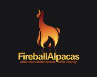 Fireball Alpacas - Logo