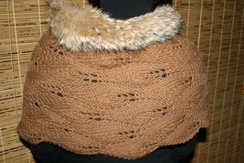 Photo of Flame & Fur Shawl