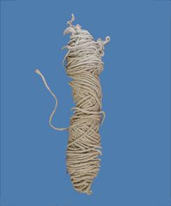 Photo of Large Skein Core Spun Rug Yarn