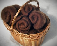 Photo of 100% Alpaca Fiber - 2oz Batts