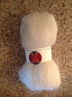 Photo of 1.4 Oz. Whit Suri Alpaca Batt
