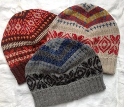 Photo of Handknit Patterned Hat