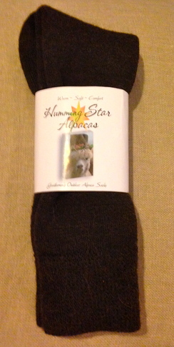 Photo of Humming Star Alpaca Outdoor Socks/Ladies