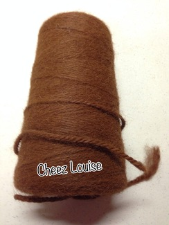 Photo of Yarn: Worsted Alpaca Yarn Cone