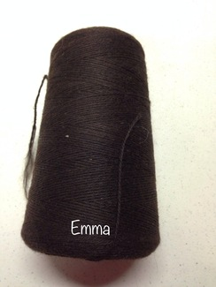 Photo of Yarn: Fingering Wt Alpaca Bay Black Cone