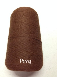 Photo of Yarn: Fingering Alpaca Cone Brown Penny