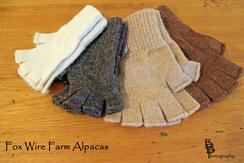 Photo of Alpaca Fingerless Gloves