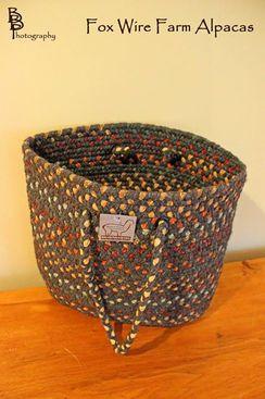 Photo of Mayflower Knitter's / Medium Tote Basket