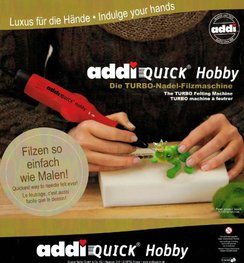 Photo of Addi Quick Needle Felting Tool