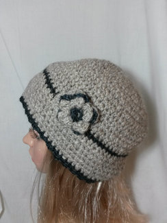 Photo of Cloche Hat OOAK, FREE SHIPPING