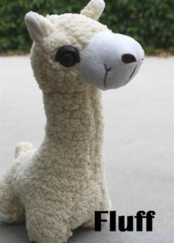 Photo of PacaBuddies Stuffed Alpaca Toy