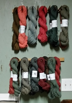 Photo of Customed Dyed Alpaca Yarn