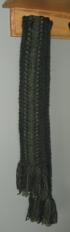 Photo of Green Alpaca Scarf