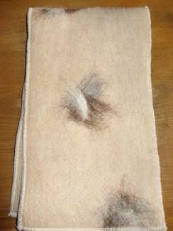Photo of Felted Alpaca Scarf
